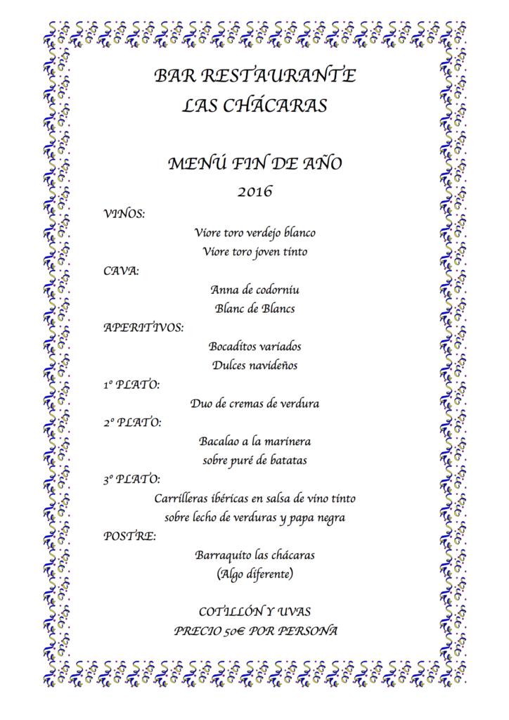 Fin de a o 2016 new year s eve 2016 blog los telares - Restaurantes para fin de ano ...