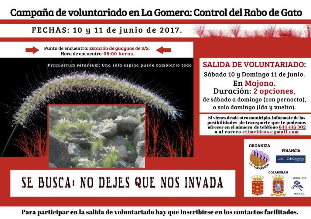 10/06/2017 – Campaña contra especies invasoras